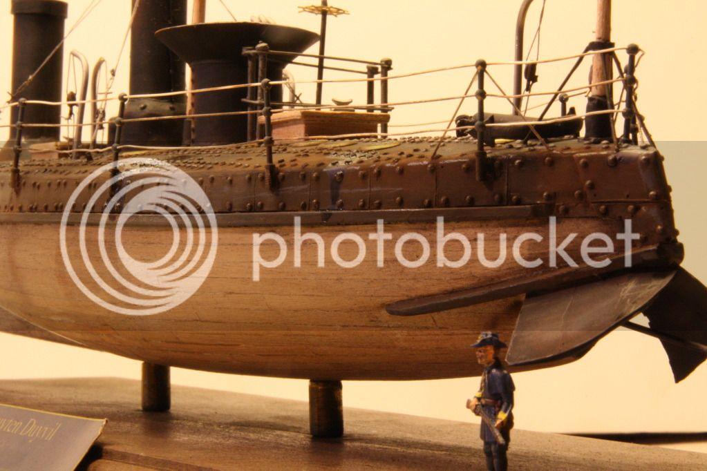 USS Spuyten Duyvil 1/72 scratch build Duyvil24
