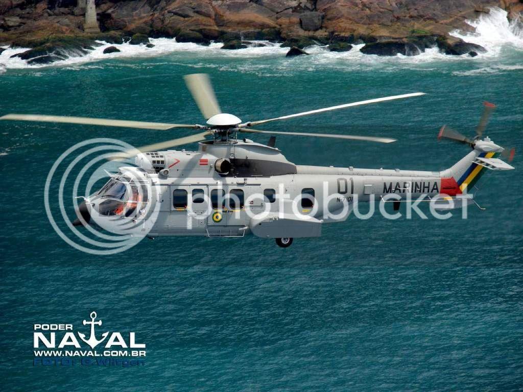 Helicópteros MB: Aviação Naval Brasileira, Seahawk MH 16 e Cougar/ EC725 Super Cougar Ec72501