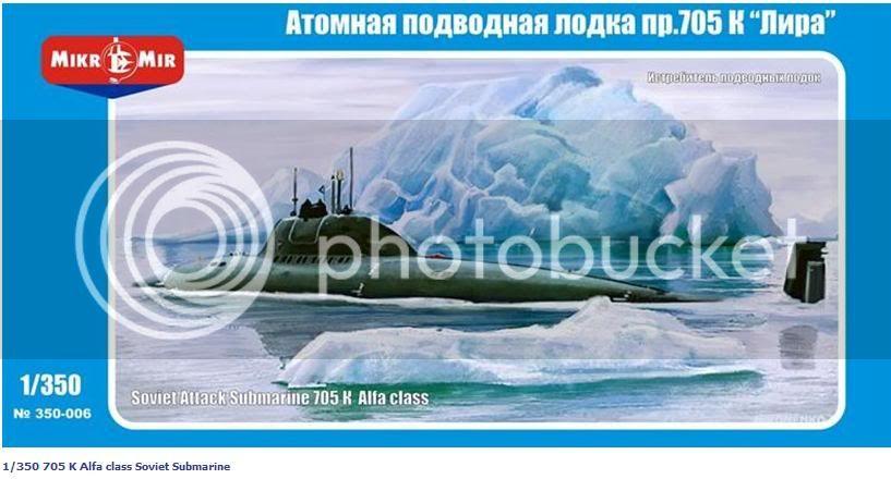 Kits de submarinos da Mikro Mir Lanamentodoalfa