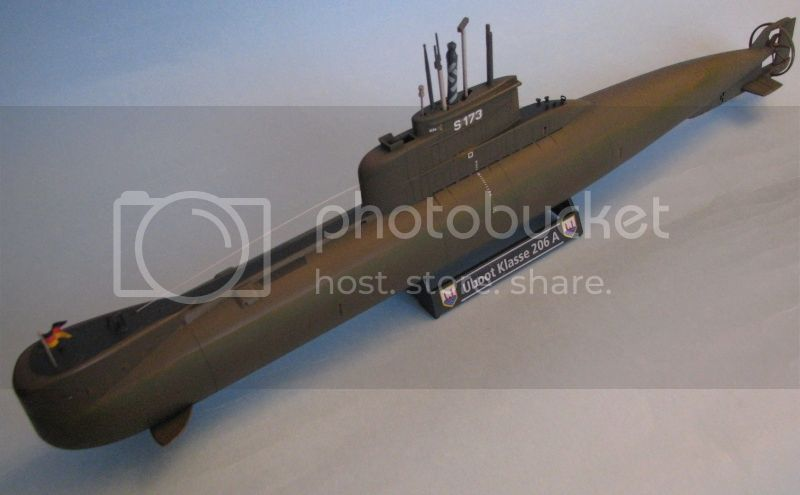 Colombia incorpora 2 submarinos Type 206A 00618