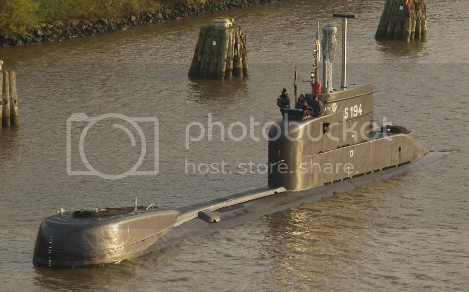 Colombia incorpora 2 submarinos Type 206A 1-24