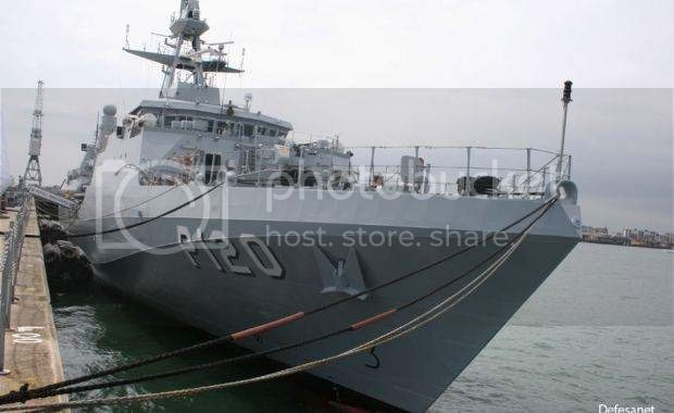 "OPVS classe Port of Spain/ NaPaOc classe ""Amazonas""  1-3"