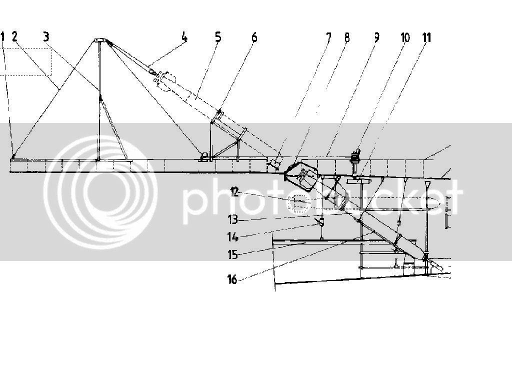 Guincho de vante para carregamento de torpedos de  U-Boats 11-1