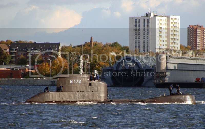 Colombia incorpora 2 submarinos Type 206A 3-10
