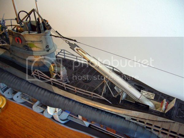 Guincho de vante para carregamento de torpedos de  U-Boats 433-FOTO-28