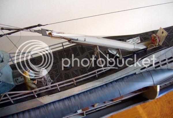 Guincho de vante para carregamento de torpedos de  U-Boats 433-FOTO-29