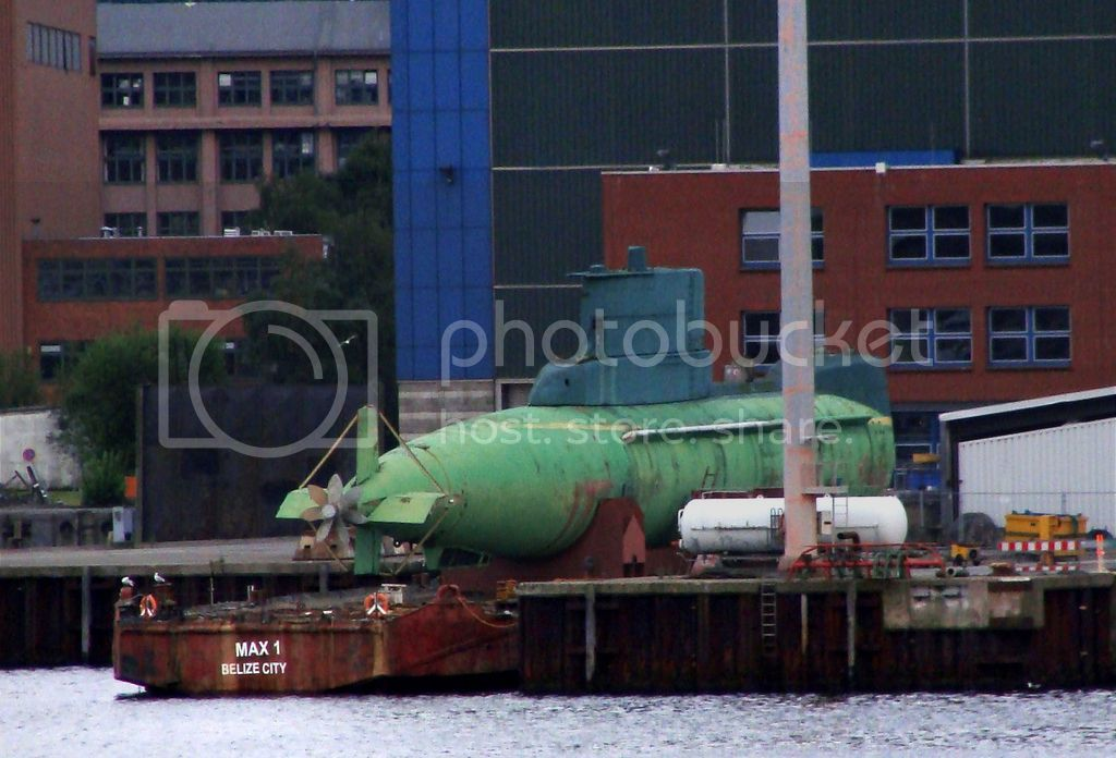 Colombia incorpora 2 submarinos Type 206A GAL