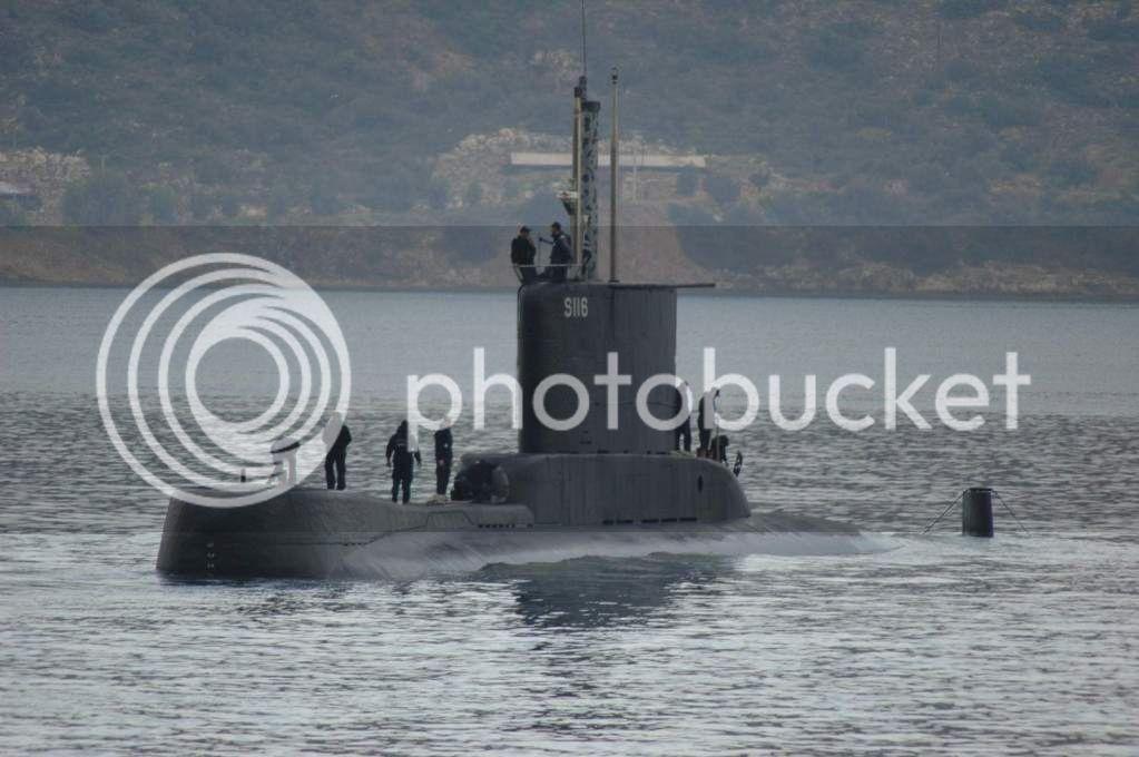 Colombia incorpora 2 submarinos Type 206A Glavkos