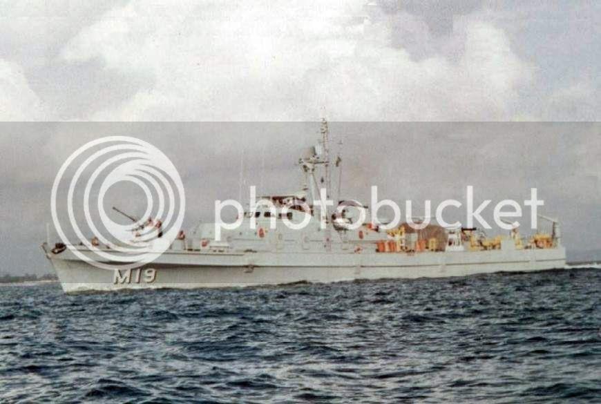 Operações de Varredura de Minas na Marinha do Brasil M19