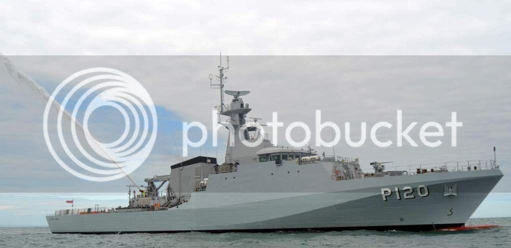 "OPVS classe Port of Spain/ NaPaOc classe ""Amazonas""  NapaAmazonas"