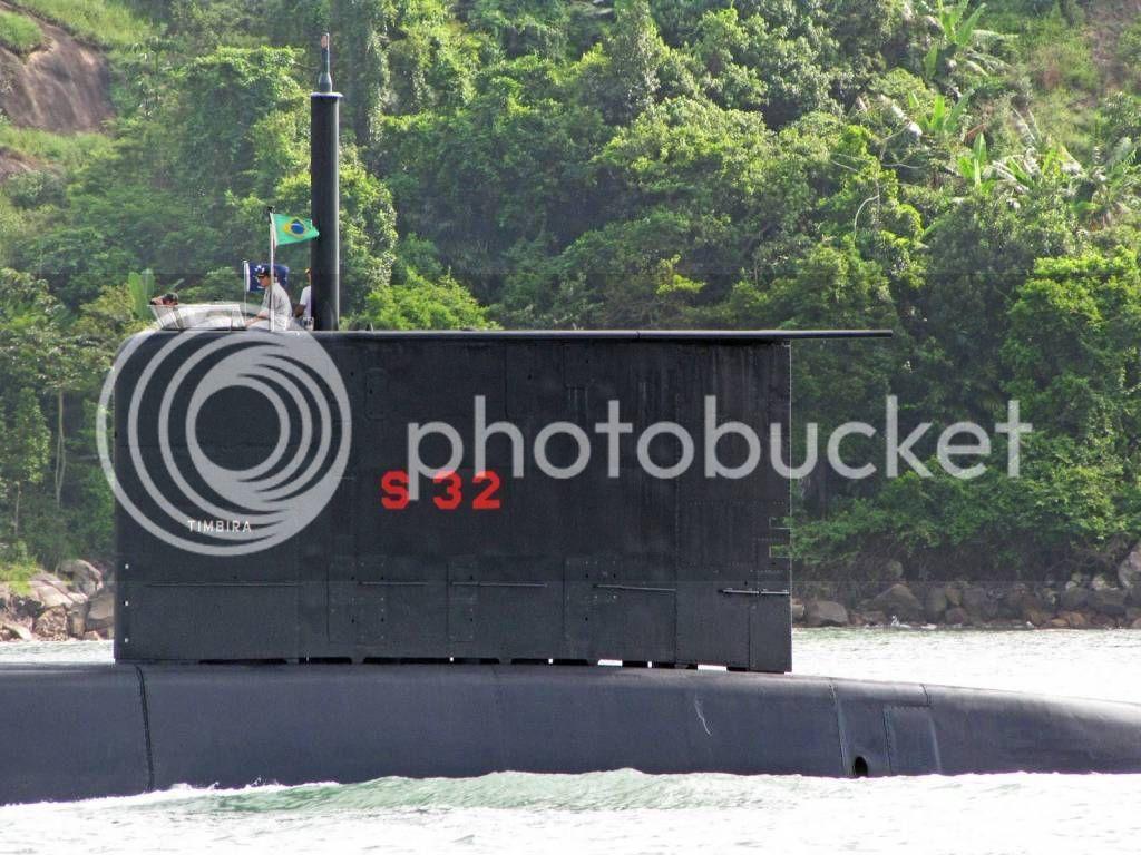 Colombia incorpora 2 submarinos Type 206A Timbira