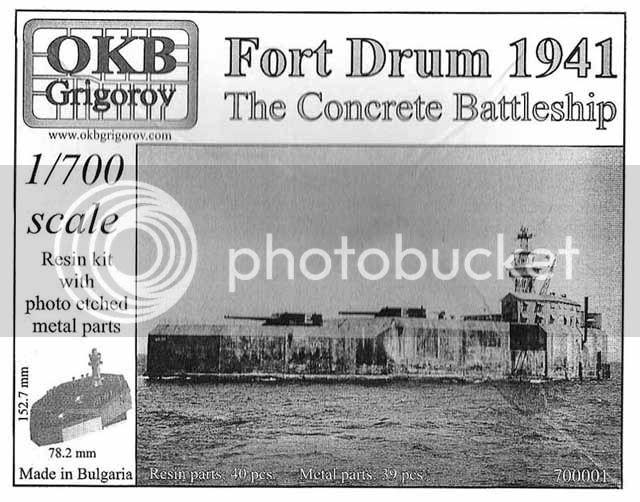 Encouraçado de Concreto: Fort Drum Drum1
