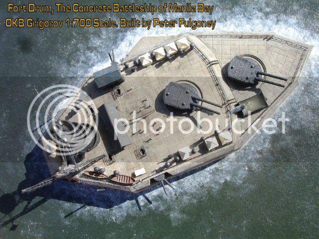 Encouraçado de Concreto: Fort Drum DrumPF114