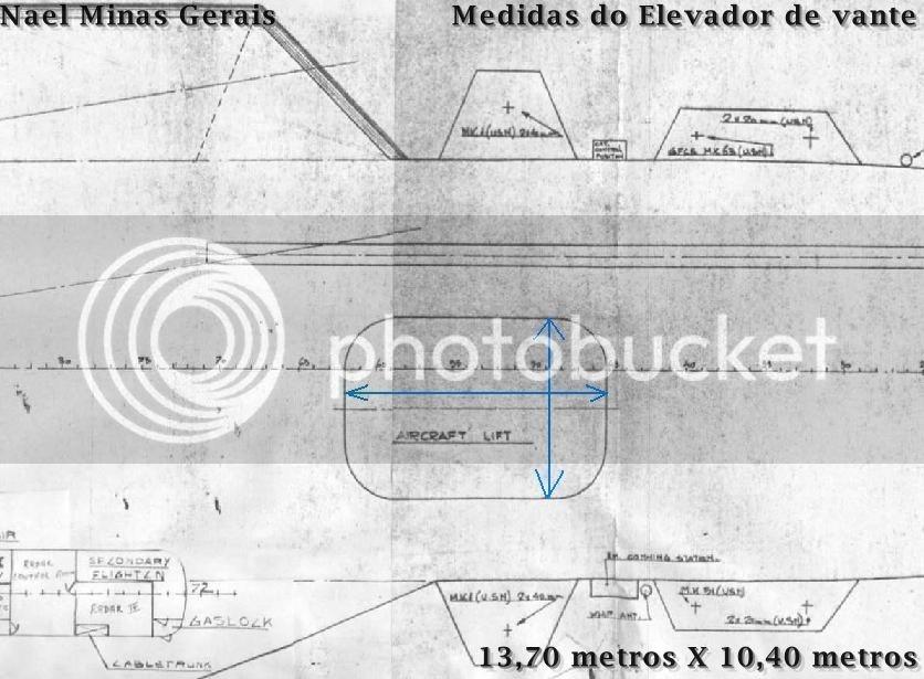 """Elevadores do NAeL """"Minas Gerais"""" Elev3"""