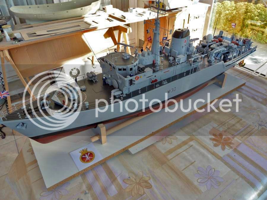 HMS Ledbury M3001
