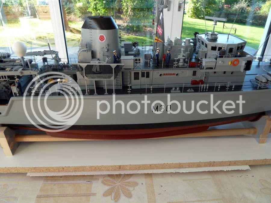 HMS Ledbury M3018