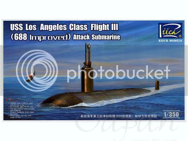 Submarinos classe Los Angeles Ric28007