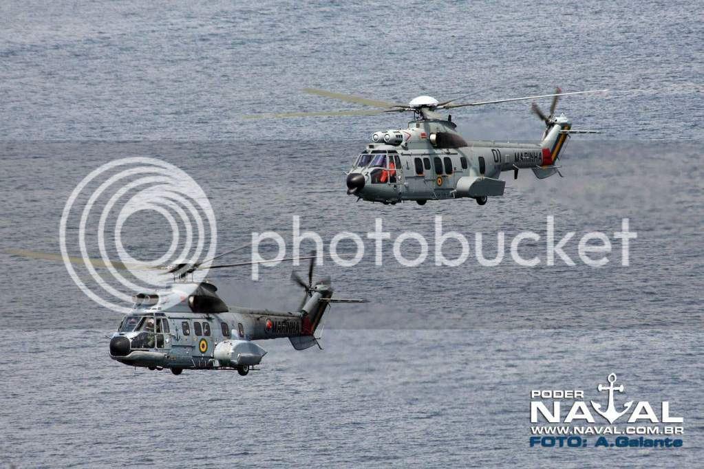 Helicópteros MB: Aviação Naval Brasileira, Seahawk MH 16 e Cougar/ EC725 Super Cougar Vootortinho