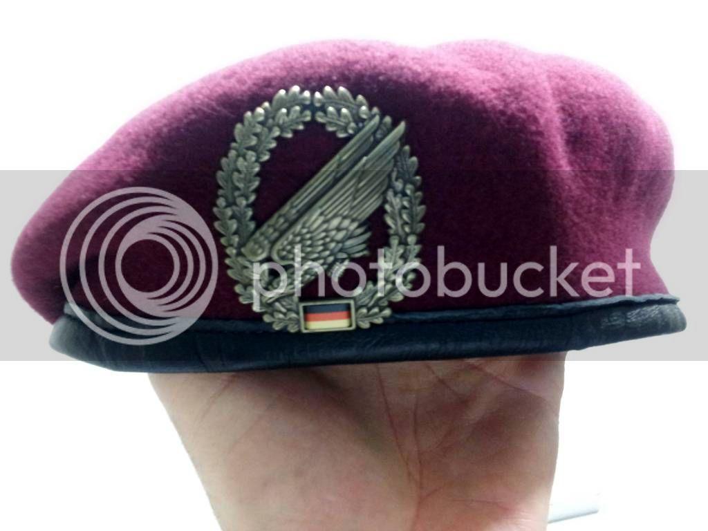 Bundeswher Para Beret Para2