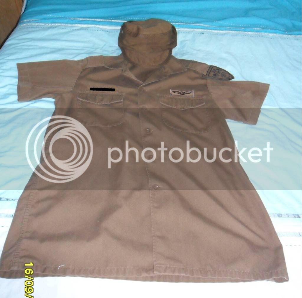 SADF 44 Bde Set Shortsleeveshirtcap