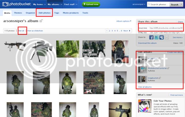 How To: Post photos using Photobucket Photo5