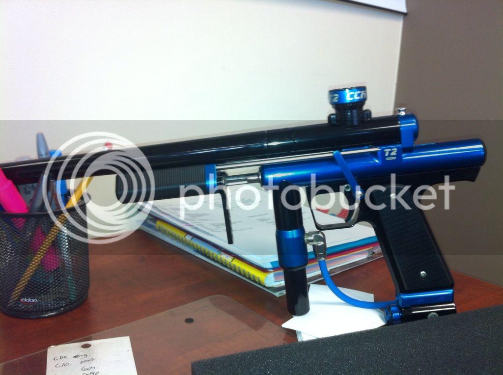 CCM T2 Blue & Black Ff8b4c1c