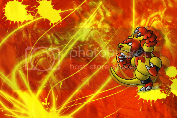 Spacey's OutofSpace and Awesome Graphic Shop Magmar