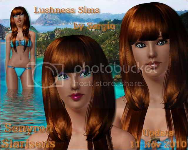 Lushness Sims Update11Nov2010