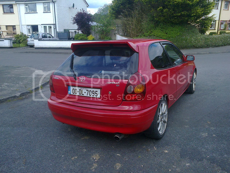 My new facelift e11 corolla hatch Photo0566