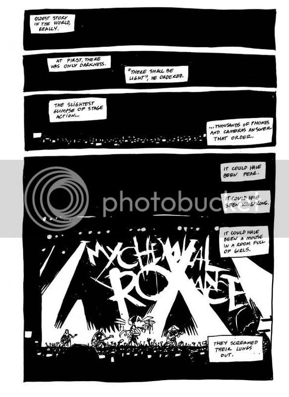 My Chemical Romance par Gabriel Ba. Mcr-p01