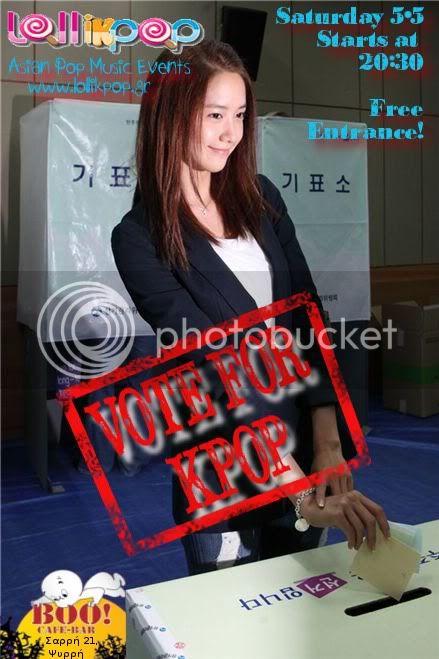 Lolli(k)pop : Vote for KPOP Party! Elections