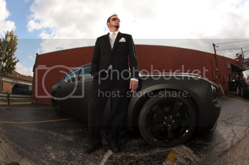 Some cool pix from the wedding Car