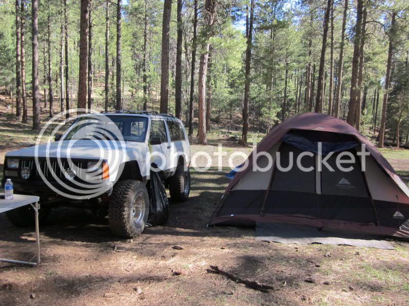 You got it, more camping photos ! Sedona292