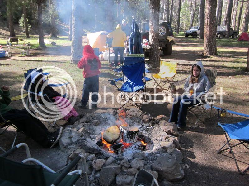 You got it, more camping photos ! Sedona294
