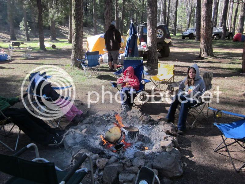 You got it, more camping photos ! Sedona295