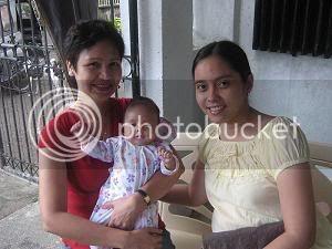 Paulo and Sally's daughter, Khen Eowyn, Christening Ke07