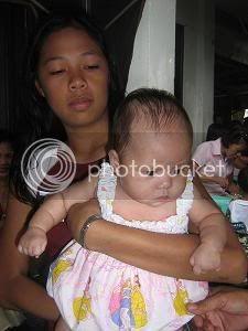 Paulo and Sally's daughter, Khen Eowyn, Christening Ke10