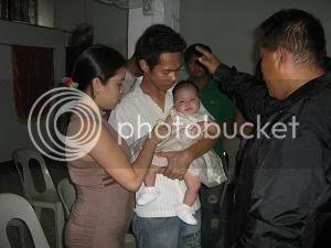 Paulo and Sally's daughter, Khen Eowyn, Christening Ke17