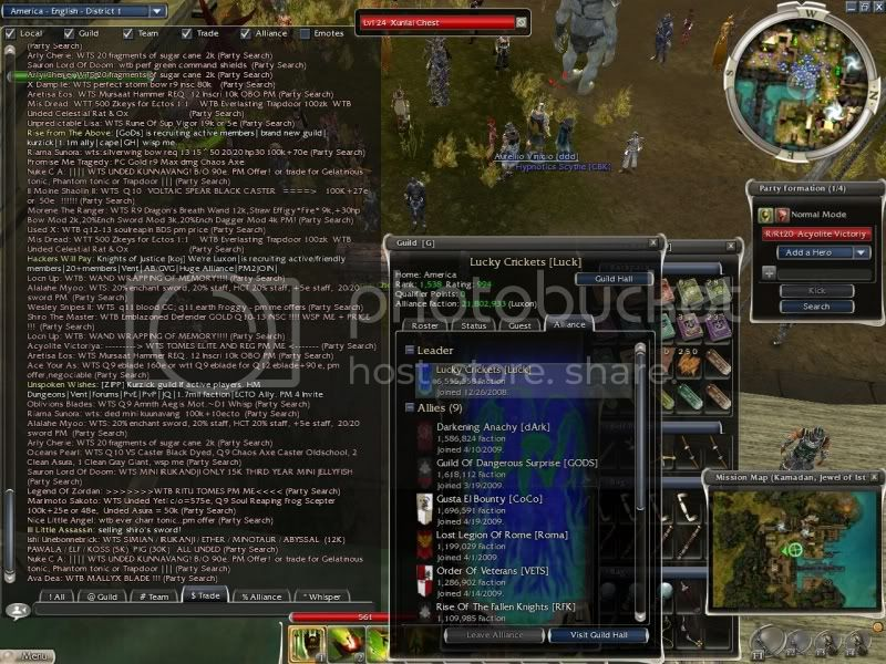 random screenshots to show off Gw117