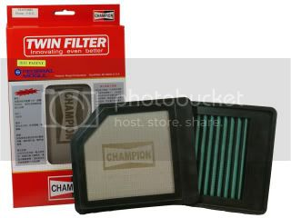 Promo : 2 pairs of Bosch Aerotwin Wiper @ $80 ChampionTwinSSFilter