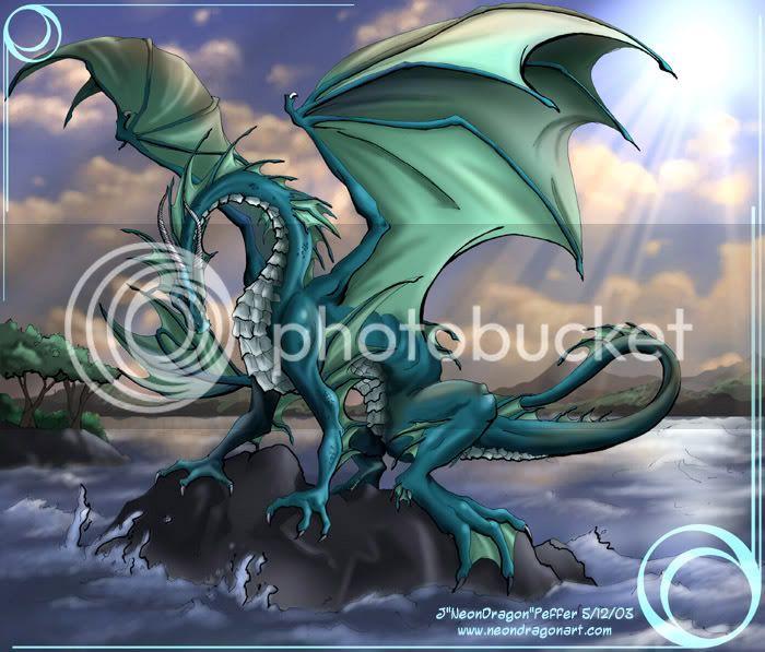 El hijo Amaterasu busca su primera pelea Waterdragon