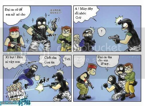 Truyện tranh Counter-Strike (Half-life) 004