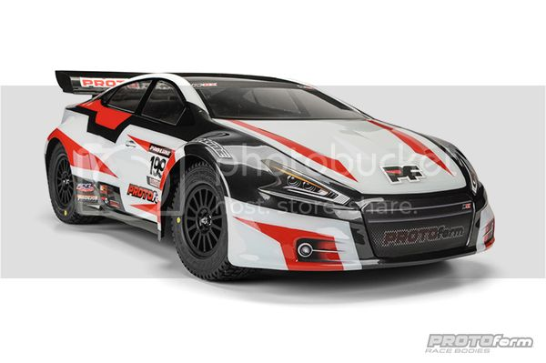 [NEW] Carro PFRX Rallycross pour Rally/Slash PRO-2 SC 1/10 par ProtoForm 1032