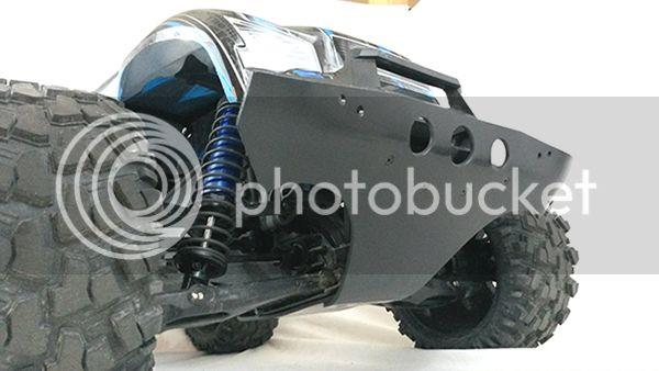 [NEW]Protection Triangle av/arr/Parechoc av/Wheelie bar/front bumper/Arm skids X-Maxx T-Bone Racing 20160213-171705