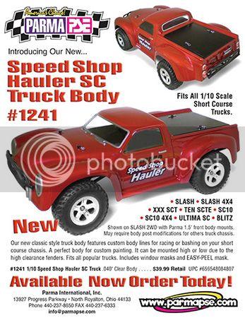 [OLDNEW] Carro Speed Shop Hauler SC 1/10 par PARMA PSE 6x2_3fcf9e4024f1c41d5157ca49a473109a