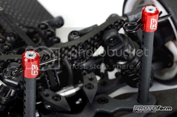 [NEW] PROTOform Crosshair mounting kit for rc bodies. 91510