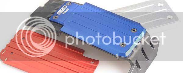 [NEW] Skid Plate Aluminium Avant Arrière/Front Rear Plate Guard aluminum X-Maxx par Area RC AreaRC%2004%2002
