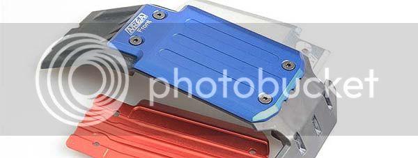 [NEW] Skid Plate Aluminium Avant Arrière/Front Rear Plate Guard aluminum X-Maxx par Area RC AreaRC%2004%2003