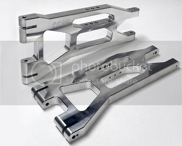 [NEW]Triangle Sup/Inf aluminium X-Maxx/ALUMINUM UPPER XMX007/LOWER XMX008 A-ARMS FullForce RC  FullForce01