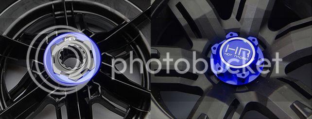 [NEW]Kit Hexa 24mm Aluminium/Aluminum hex Hub wheel Lock set pour X-Maxx par Hot Racing XMX10X06 HR%20xmx10x06-4
